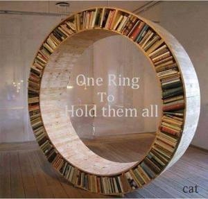 lord of the rings bookcase